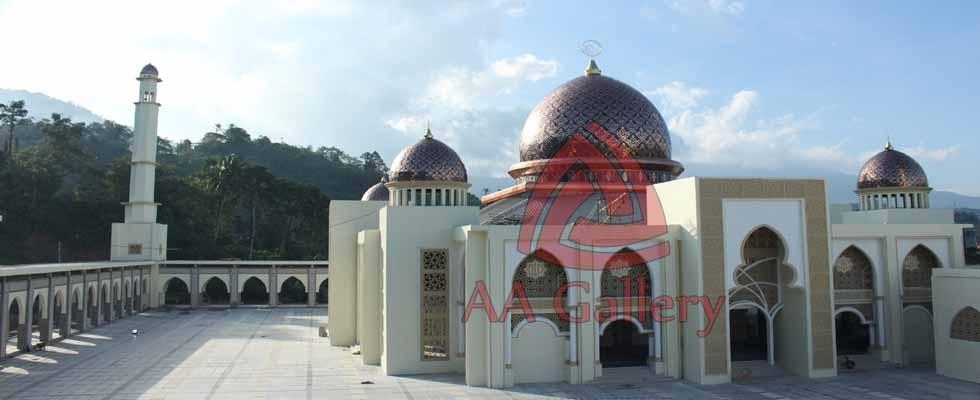 Pusat Kubah Tembaga & Interior Masjid 02