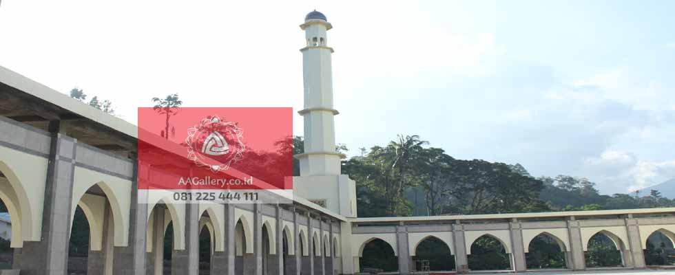 Pusat Kubah Tembaga & Interior Masjid 03