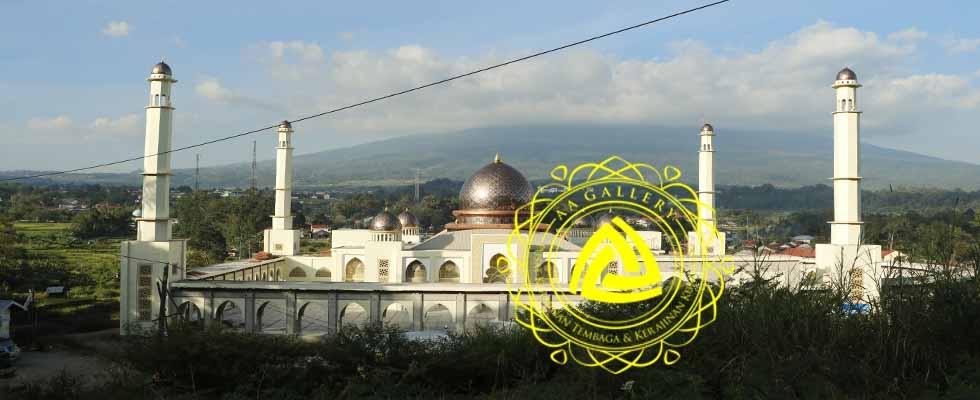 Pusat Kubah Tembaga & Interior Masjid 01